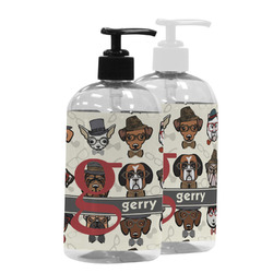 Hipster Dogs Plastic Soap / Lotion Dispenser (Personalized)