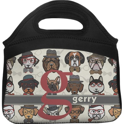 Hipster Dogs Lunch Tote (Personalized)