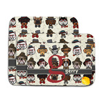 Hipster Dogs Memory Foam Bath Mat (Personalized)