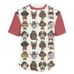 Hipster Dogs Men's Crew T-Shirt (Personalized)