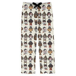 Hipster Dogs Mens Pajama Pants (Personalized)