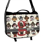 Hipster Dogs Messenger Bag (Personalized)