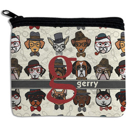 Hipster Dogs Rectangular Coin Purse (Personalized)