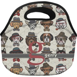 Hipster Dogs Lunch Bag (Personalized)