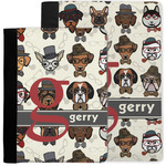 Hipster Dogs Notebook Padfolio w/ Name and Initial
