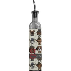 Hipster Dogs Oil Dispenser Bottle (Personalized)