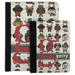 Hipster Dogs Padfolio Clipboard (Personalized)