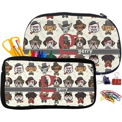 Hipster Dogs Pencil / School Supplies Bag (Personalized)