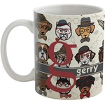 Hipster Dogs Coffee Mug (Personalized)