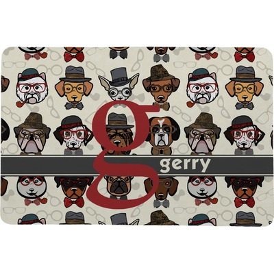 Hipster Dogs Comfort Mat (Personalized)