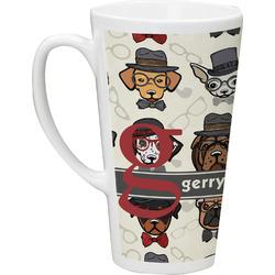 Hipster Dogs 16 Oz Latte Mug (Personalized)