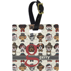 Hipster Dogs Luggage Tags (Personalized)
