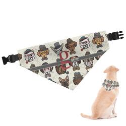 Hipster Dogs Dog Bandana (Personalized)