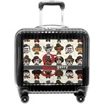 Hipster Dogs Pilot / Flight Suitcase (Personalized)