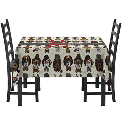 Hipster Dogs Tablecloth (Personalized)