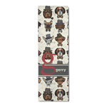 Hipster Dogs Runner Rug - 3.66'x8' (Personalized)