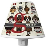 Hipster Dogs Shade Night Light (Personalized)