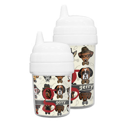 Hipster Dogs Sippy Cup (Personalized)