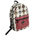 Hipster Dogs Student Backpack (Personalized)