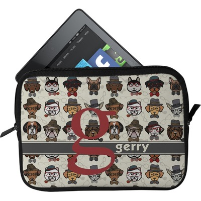 Hipster Dogs Tablet Case / Sleeve (Personalized)