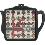 Hipster Dogs Teapot Trivet (Personalized)