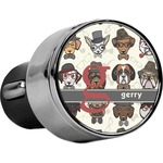 Hipster Dogs USB Car Charger (Personalized)