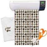 "Hipster Dogs Heat Transfer Vinyl Sheet (12""x18"")"