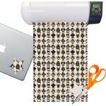 Hipster Dogs Sticker Vinyl Sheet (Permanent)
