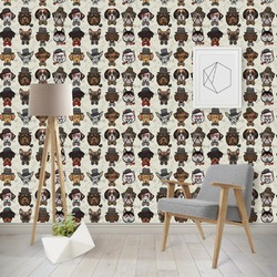 Hipster Dogs Wallpaper & Surface Covering