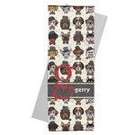 Hipster Dogs Yoga Mat Towel (Personalized)
