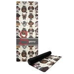 Hipster Dogs Yoga Mat (Personalized)