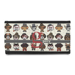 Hipster Dogs Leatherette Ladies Wallet (Personalized)