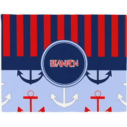 Classic Anchor & Stripes Placemat (Fabric) (Personalized)