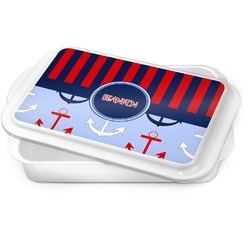 Classic Anchor & Stripes Cake Pan (Personalized)