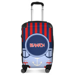Classic Anchor & Stripes Suitcase (Personalized)
