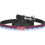 Classic Anchor & Stripes Dog Leash (Personalized)