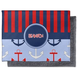 Classic Anchor & Stripes Microfiber Screen Cleaner (Personalized)