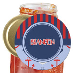 Classic Anchor & Stripes Jar Opener (Personalized)