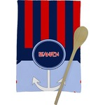 Classic Anchor & Stripes Kitchen Towel - Full Print (Personalized)