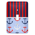 Classic Anchor & Stripes Light Switch Covers (Personalized)