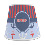 Classic Anchor & Stripes Empire Lamp Shade (Personalized)