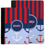 Classic Anchor & Stripes Notebook Padfolio w/ Name or Text