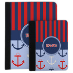 Classic Anchor & Stripes Padfolio Clipboard (Personalized)
