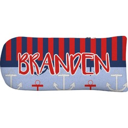 Classic Anchor & Stripes Putter Cover (Personalized)