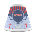 Classic Anchor & Stripes Chandelier Lamp Shade (Personalized)