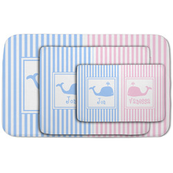 Striped w/ Whales Area Rug (Personalized)