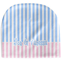 Striped w/ Whales Baby Hat (Beanie) (Personalized)