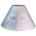 Striped w/ Whales Coolie Lamp Shade (Personalized)