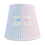 Striped w/ Whales Empire Lamp Shade (Personalized)