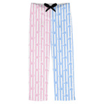 Striped w/ Whales Mens Pajama Pants (Personalized)